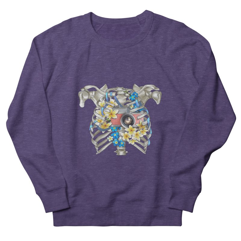 Skeleton_artwork Women's French Terry Sweatshirt by gabifaveri's Artist Shop