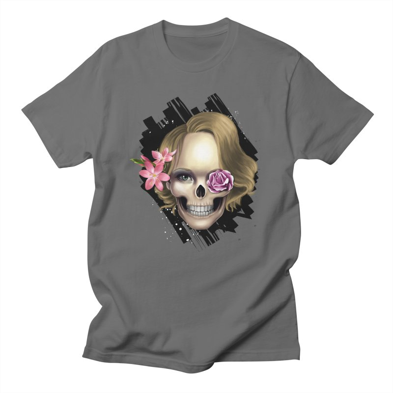 Skull_face art Men's T-Shirt by gabifaveri's Artist Shop