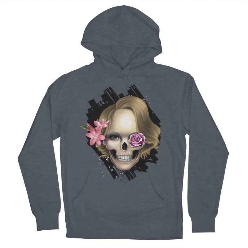 Skull_face art Men's Pullover Hoody by gabifaveri's Artist Shop