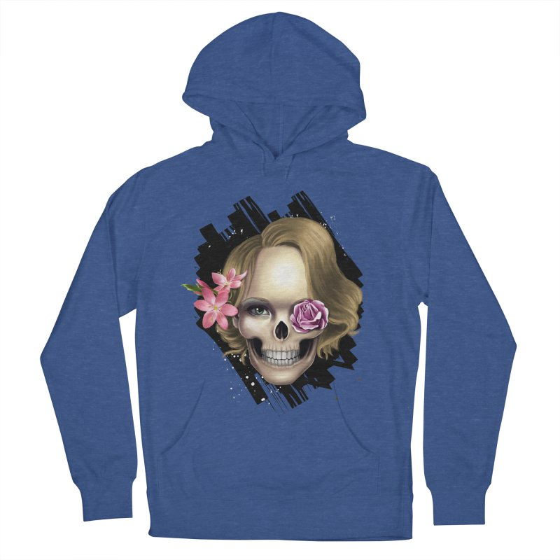 Skull_face art Men's Pullover Hoody by gabifaveri's Artist Shop