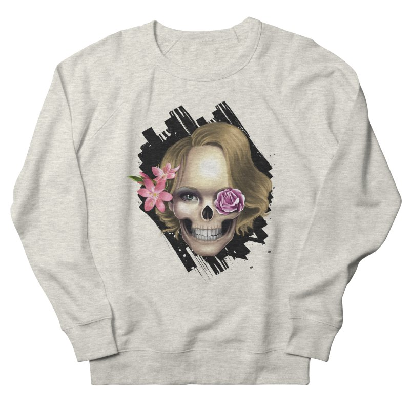 Skull_face art Men's Sweatshirt by gabifaveri's Artist Shop