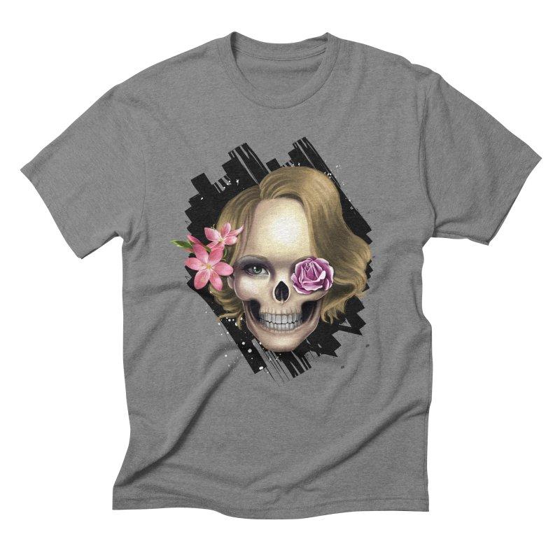 Skull_face art Men's  by gabifaveri's Artist Shop