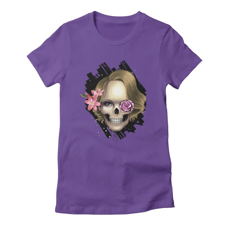 Skull_face art Women's  by gabifaveri's Artist Shop