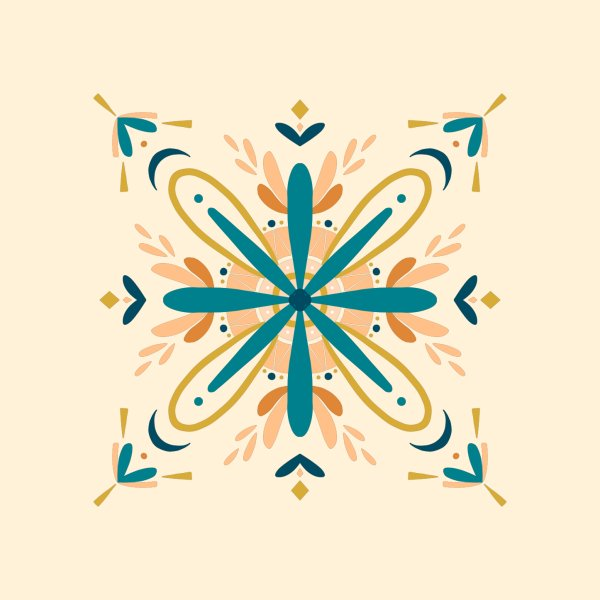 image for Mandala inspired tile design