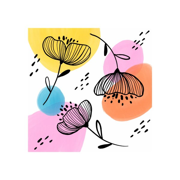 image for Spring Flowers and Paint Dots