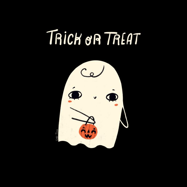 image for Trick or treat Halloween cute ghost