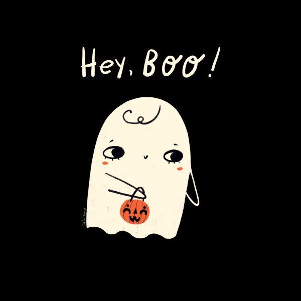 image for Hey Boo Halloween cute ghost