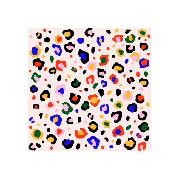 image for Leopard print pattern | Primary colors
