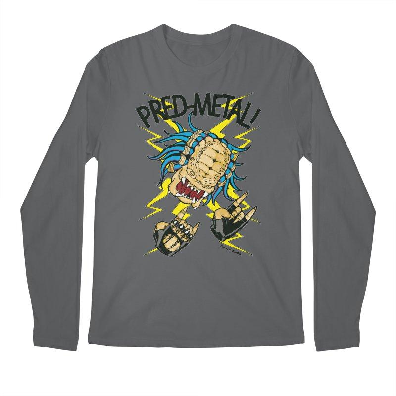 PRED-METAL Men's Regular Longsleeve T-Shirt by Gabriel Dieter's Artist Shop