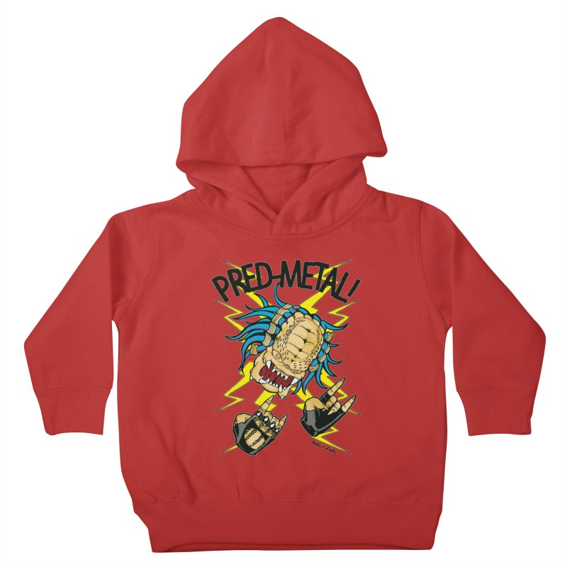 PRED-METAL Kids Toddler Pullover Hoody by Gabriel Dieter's Artist Shop