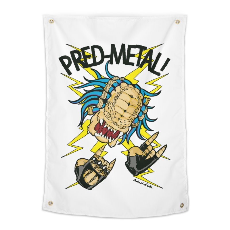 PRED-METAL Home Tapestry by Gabriel Dieter's Artist Shop