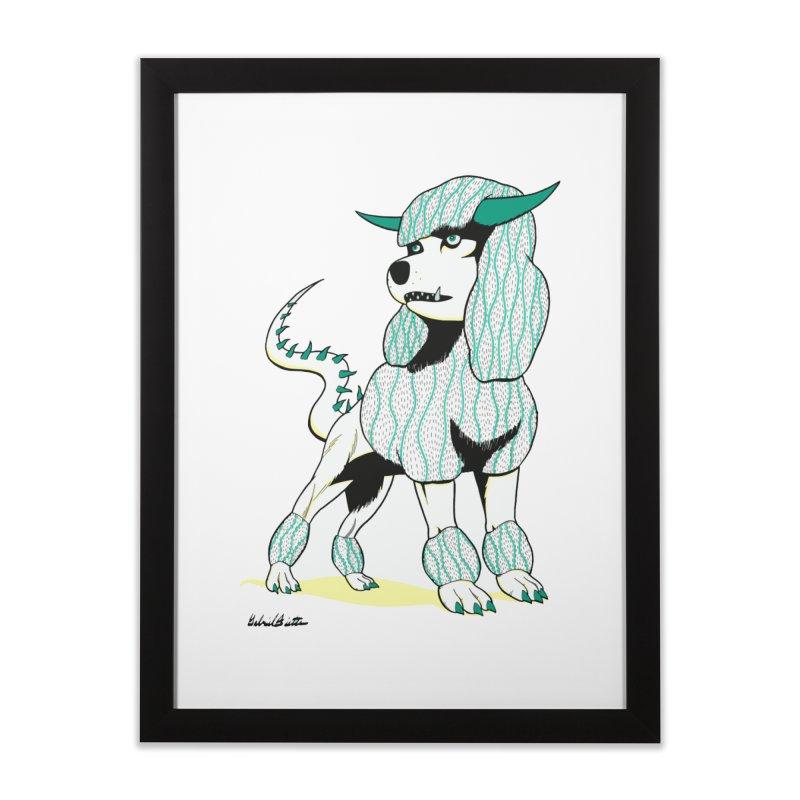 Klaang! Home Framed Fine Art Print by Gabriel Dieter's Artist Shop