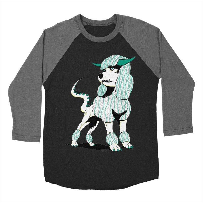 Klaang! Women's Baseball Triblend Longsleeve T-Shirt by Gabriel Dieter's Artist Shop