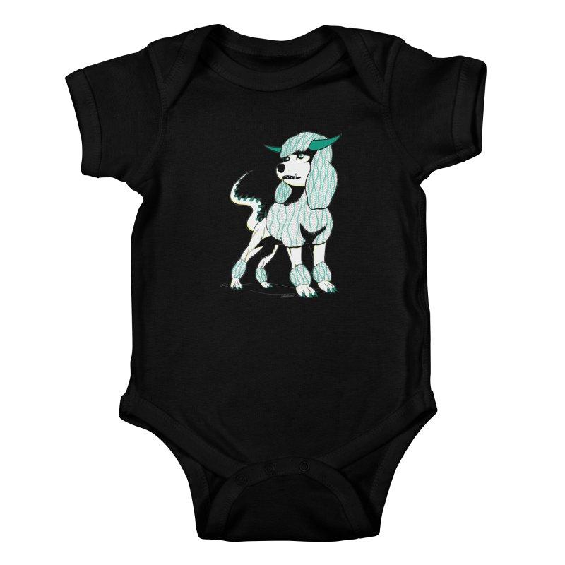 Klaang! Kids Baby Bodysuit by Gabriel Dieter's Artist Shop