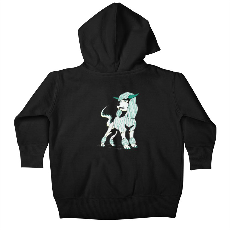 Klaang! Kids Baby Zip-Up Hoody by Gabriel Dieter's Artist Shop