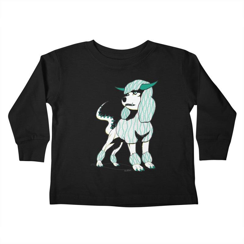 Klaang! Kids Toddler Longsleeve T-Shirt by Gabriel Dieter's Artist Shop