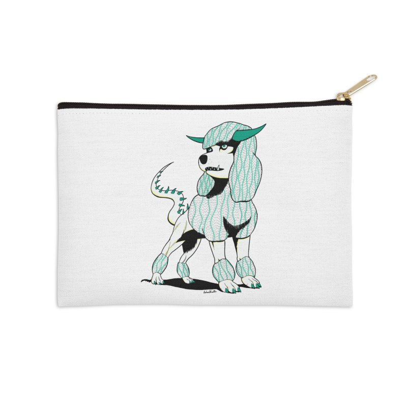 Klaang! Accessories Zip Pouch by Gabriel Dieter's Artist Shop