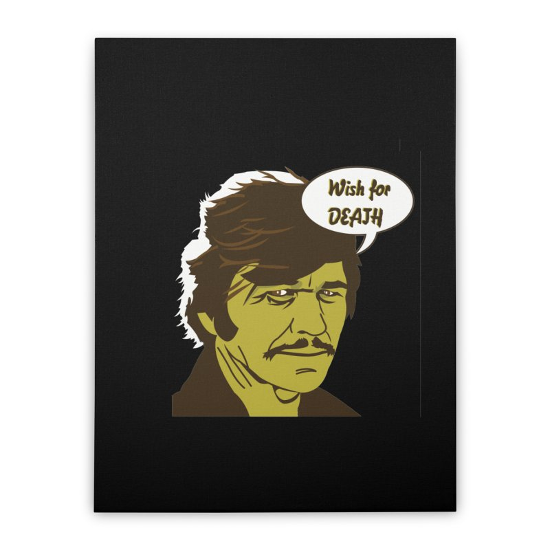 BRONSON Home Stretched Canvas by Gabriel Dieter's Artist Shop