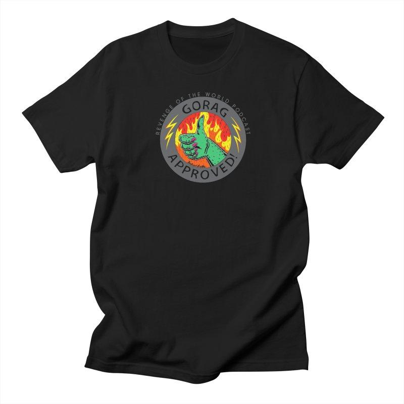 Gorag Approved - BLK Men's T-Shirt by Gabriel Dieter's Artist Shop