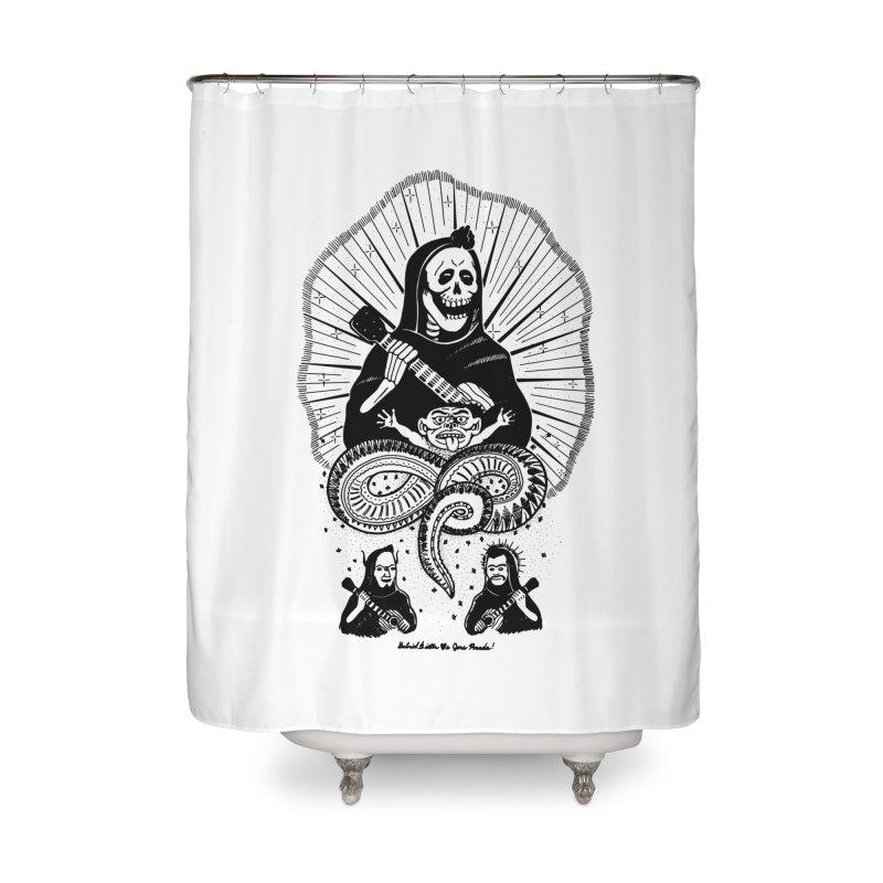 GD <3 JP Home Shower Curtain by Gabriel Dieter's Artist Shop