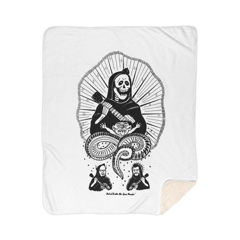 GD <3 JP Home Sherpa Blanket Blanket by Gabriel Dieter's Artist Shop