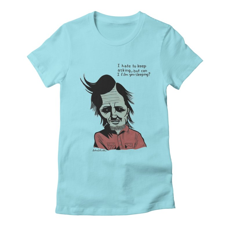 Night of the Creep Women's Fitted T-Shirt by Gabriel Dieter's Artist Shop