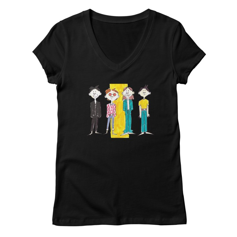 Best Rockers - One Women's V-Neck by Galarija's Artist Shop