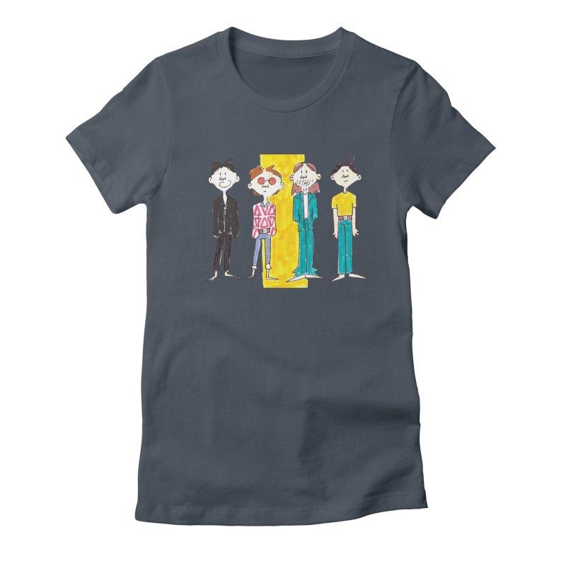 Best Rockers - One Women's T-Shirt by Galarija's Artist Shop