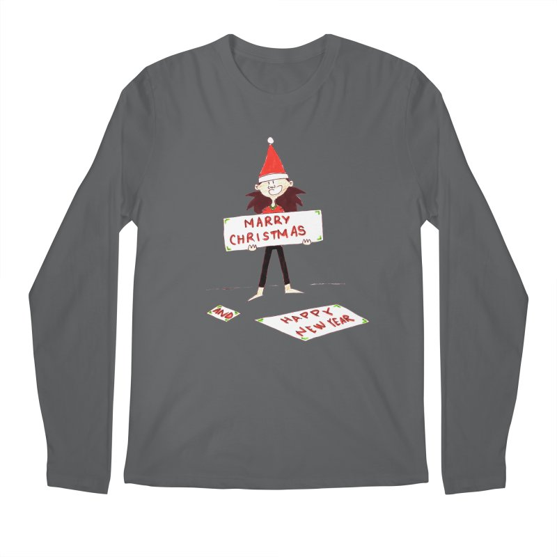 Marry Christmas & Happy New Year - Dwarf Men's Longsleeve T-Shirt by Galarija's Artist Shop