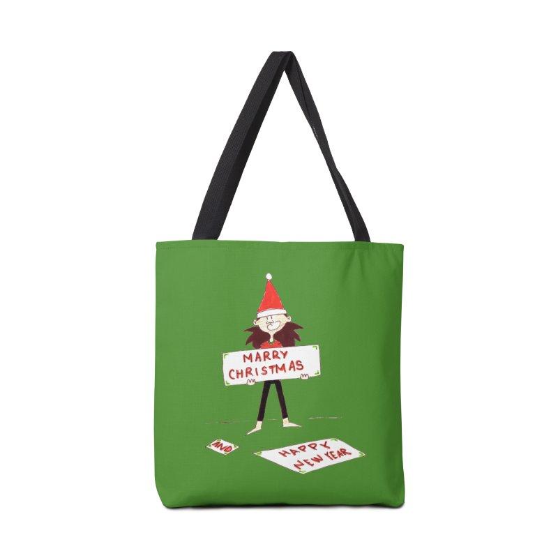 Marry Christmas & Happy New Year - Dwarf Accessories Bag by Galarija's Artist Shop