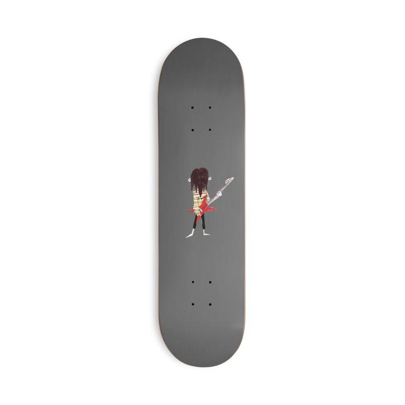 Rocker Accessories Skateboard by Galarija's Artist Shop
