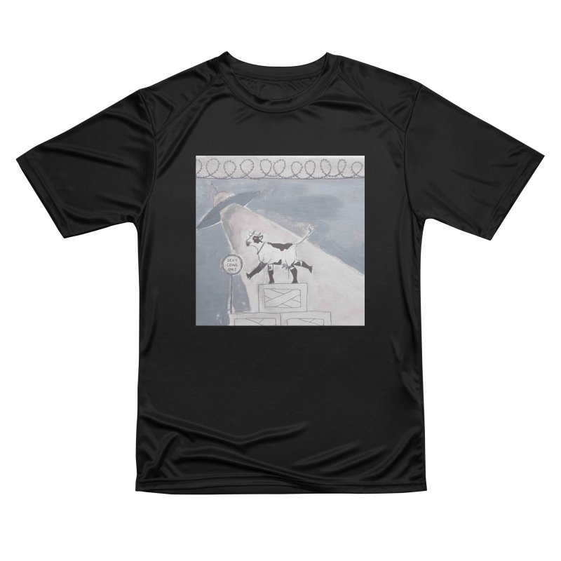 Sexy Cows Only Men's T-Shirt by Galarija's Artist Shop