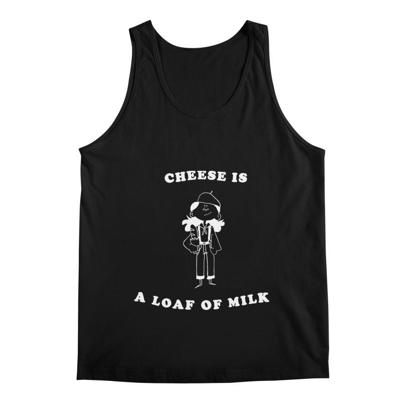 Cheese Men's Tank by Galarija's Artist Shop