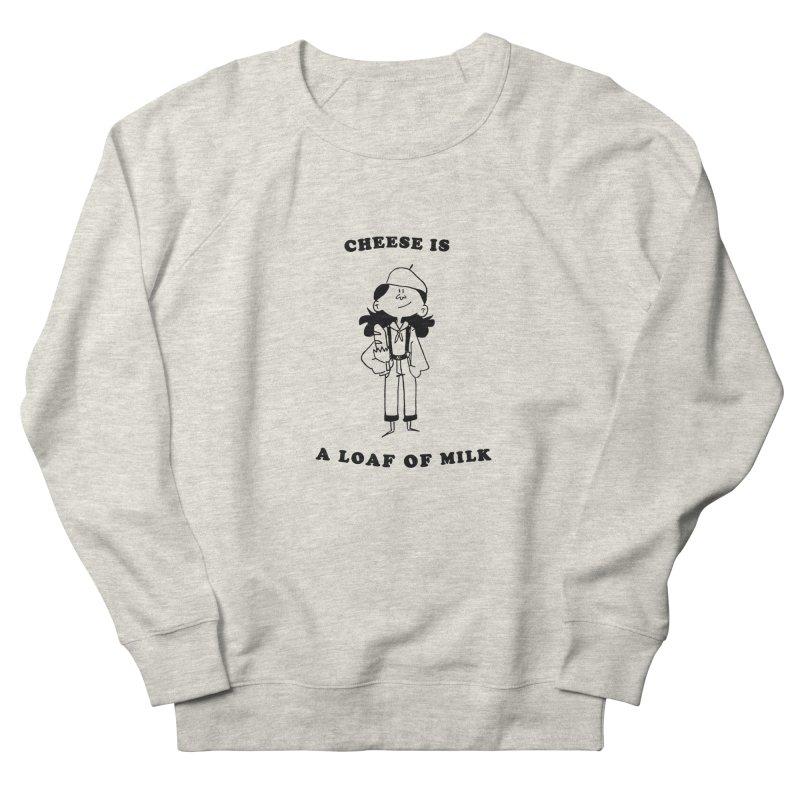 Cheese Men's Sweatshirt by Galarija's Artist Shop