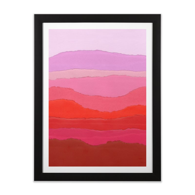 Colores Home Framed Fine Art Print by Galaxy Eyes