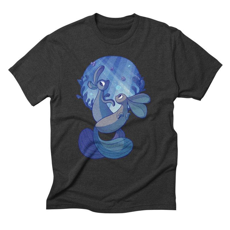 Merbuns Men's Triblend T-Shirt by galesaur's Artist Shop