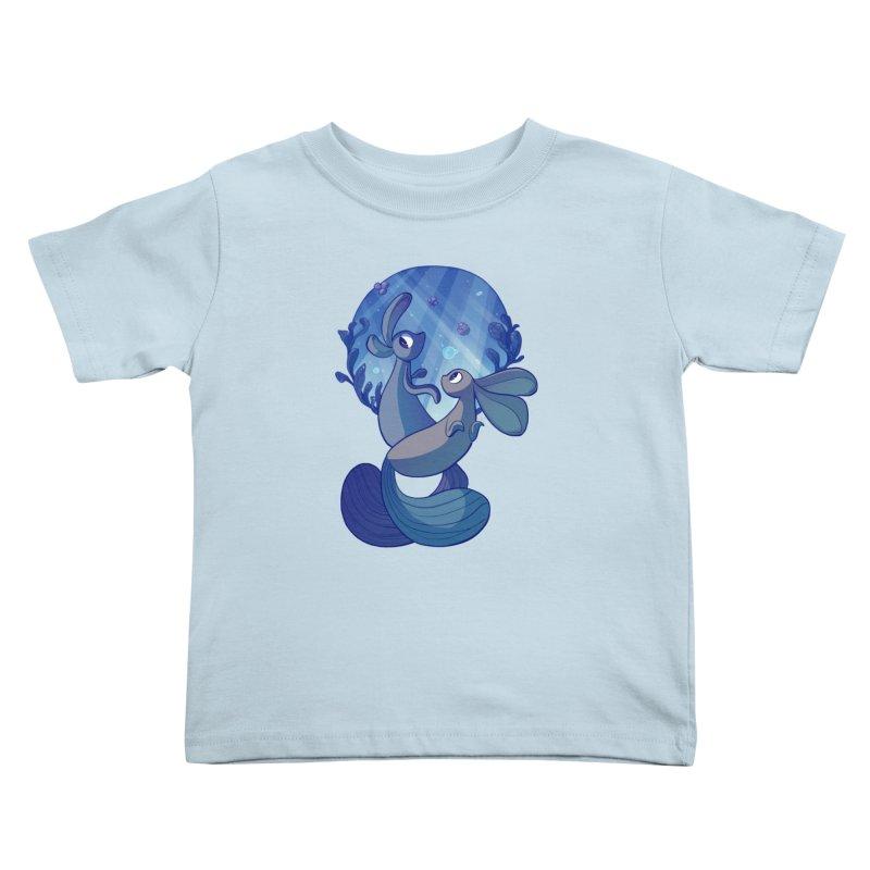 Merbuns Kids Toddler T-Shirt by galesaur's Artist Shop