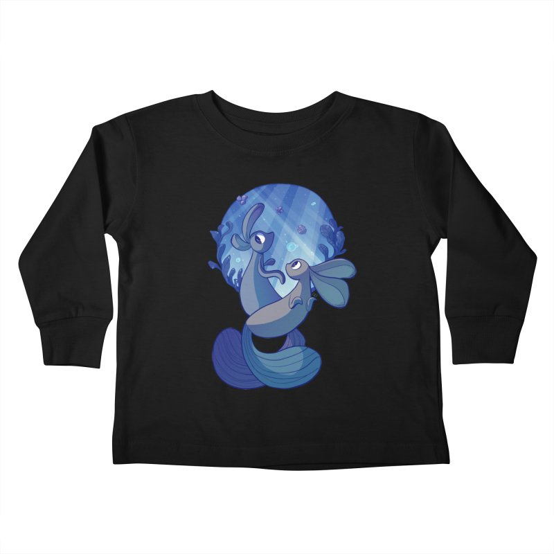 Merbuns Kids Toddler Longsleeve T-Shirt by galesaur's Artist Shop