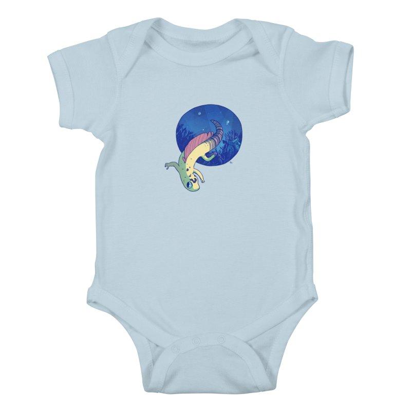 Mergeck Kids Baby Bodysuit by galesaur's Artist Shop