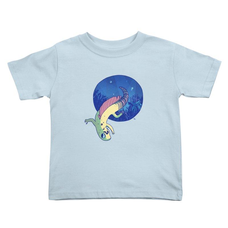 Mergeck Kids Toddler T-Shirt by galesaur's Artist Shop