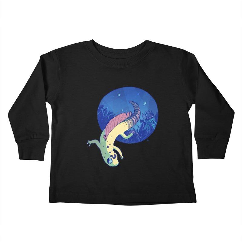 Mergeck Kids Toddler Longsleeve T-Shirt by galesaur's Artist Shop
