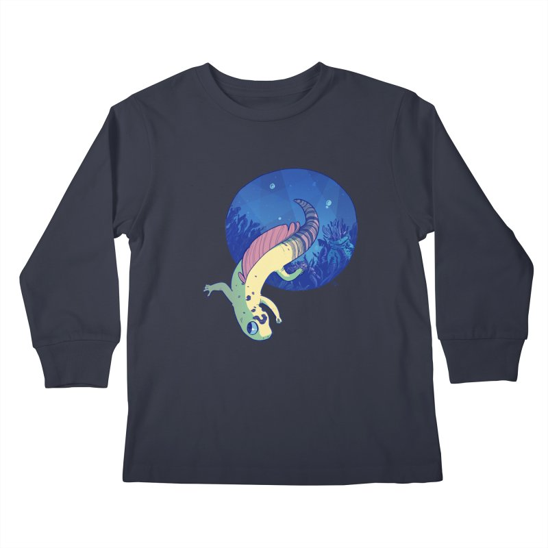 Mergeck Kids Longsleeve T-Shirt by galesaur's Artist Shop