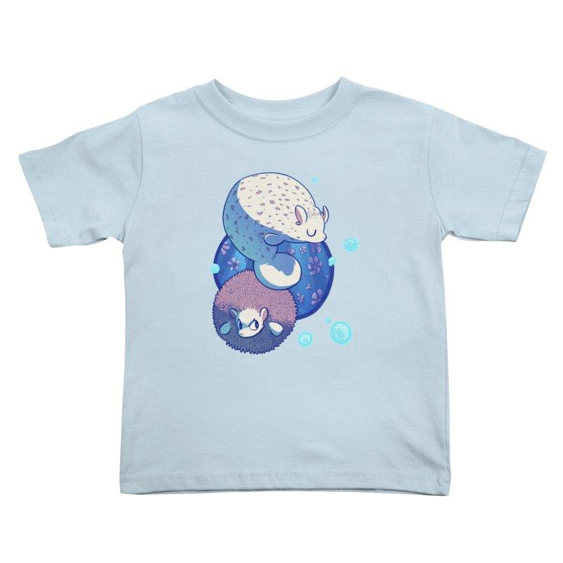 Merhedges Kids Toddler T-Shirt by galesaur's Artist Shop