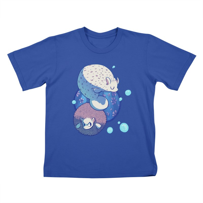 Merhedges Kids T-shirt by galesaur's Artist Shop
