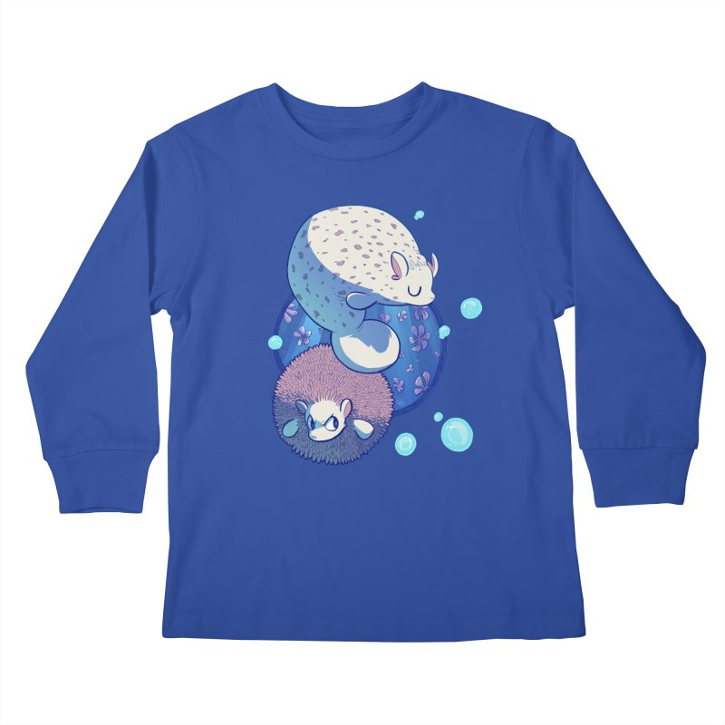 Merhedges Kids Longsleeve T-Shirt by galesaur's Artist Shop
