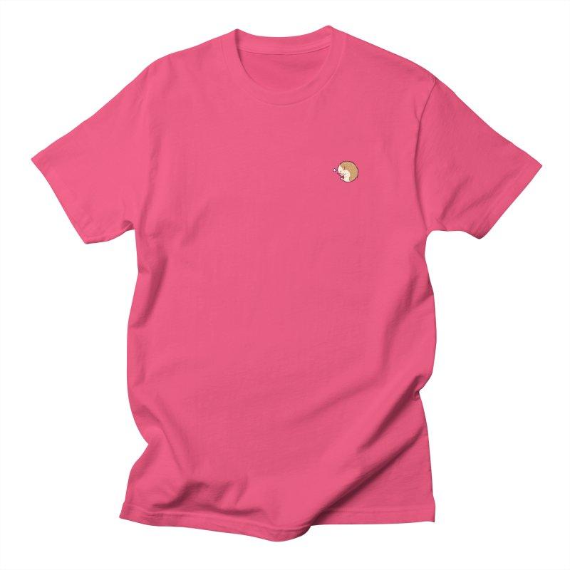 Small Sleepy Hedgie Men's T-shirt by galesaur's Artist Shop