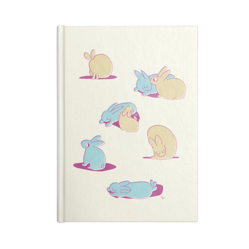 Quiet Bunday Accessories Notebook by galesaur's Artist Shop