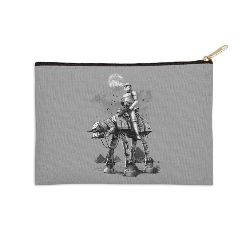 STORMTROOPER RIDING ATAT Accessories Zip Pouch by gallerianarniaz's Artist Shop