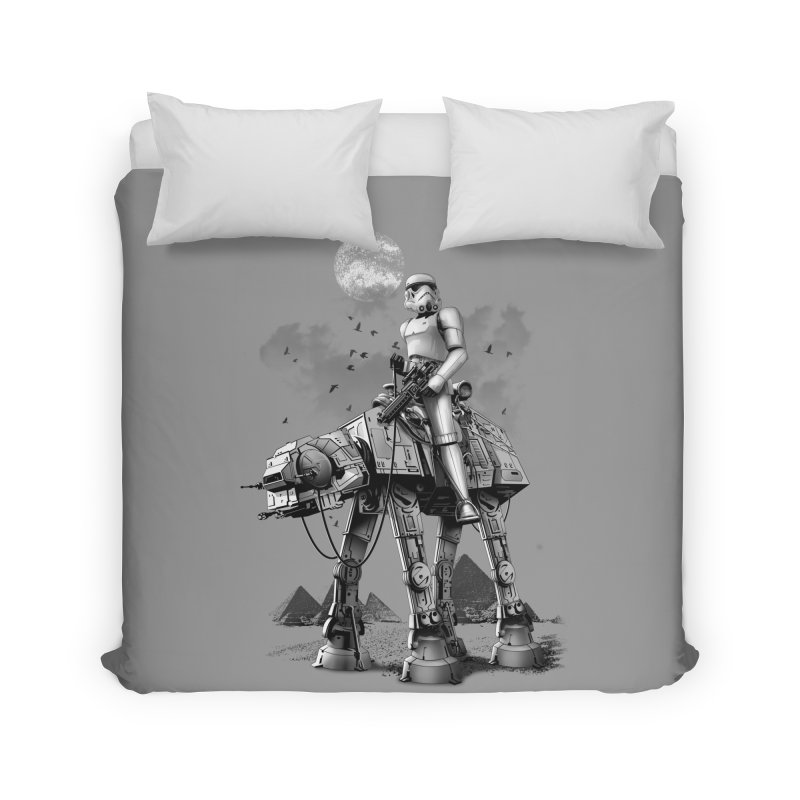 STORMTROOPER RIDING ATAT Home Duvet by gallerianarniaz's Artist Shop
