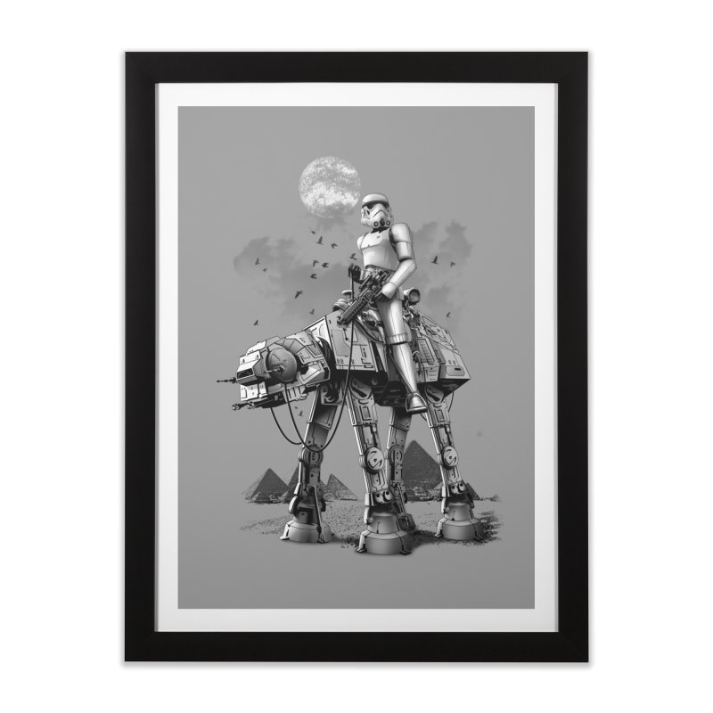 STORMTROOPER RIDING ATAT   by gallerianarniaz's Artist Shop
